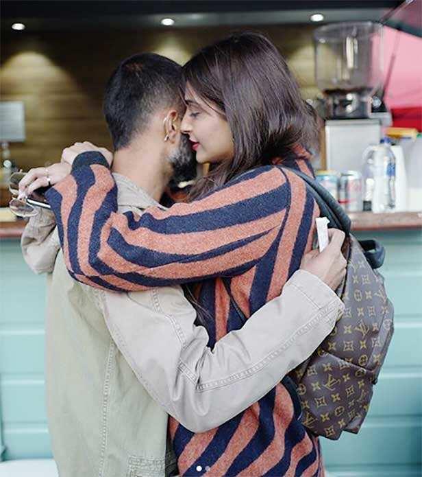 Anand Ahuja birthday wish for Sonam Kapoor