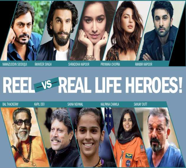 Real and Reel life heroes