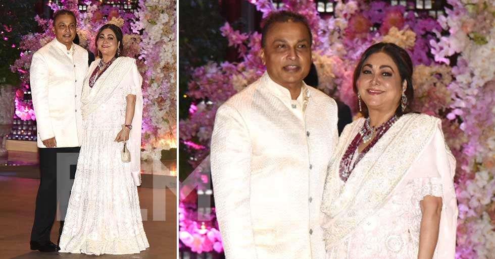 Anil And Tina Ambani Arrive For Akash Shloka Mehta S Ring Ceremony Filmfare