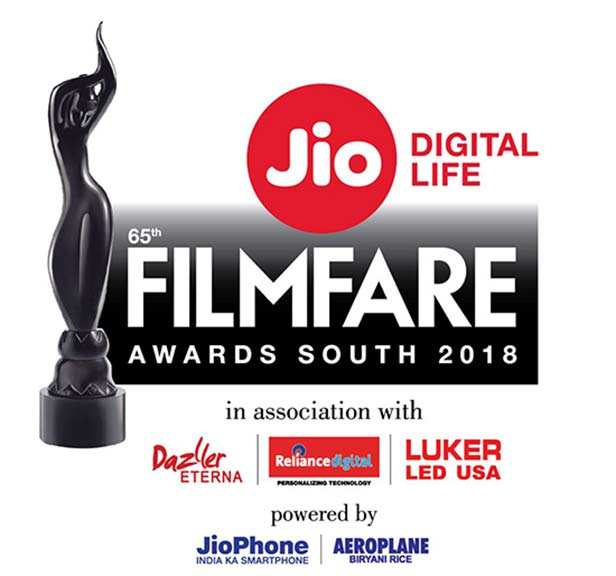Winners of the 65th Jio Filmfare Awards (South) 2018