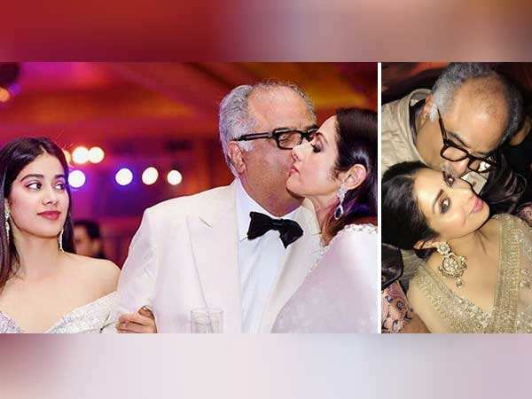 Janhvi Kapoor posts a throwback picture with Sridevi and Boney Kapoor