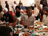 Diljit Dosanjh enjoys iftari with the crew members of Soorma