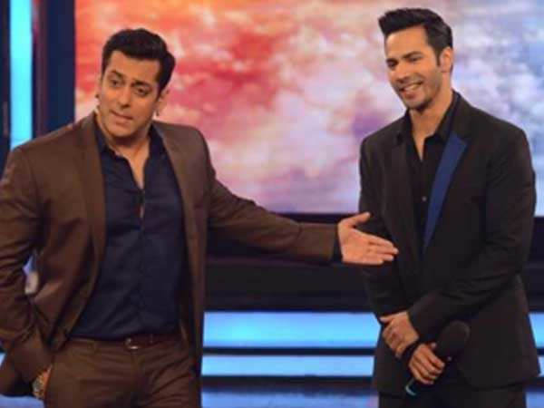 """Varun Dhawan has some of me, Sanjay Dutt and Govinda""- Salman Khan"