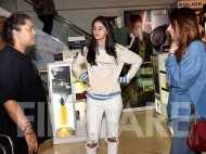 Ananya Panday heads out to watch a movie with her mother Bhavna Panday