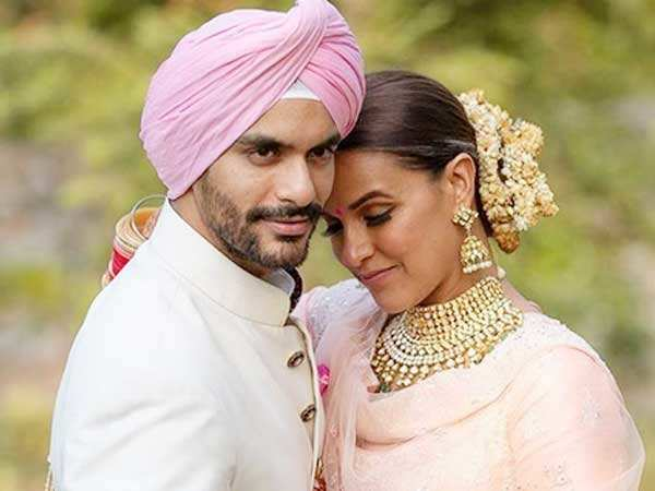Newlyweds Neha Dhupia & Angad Bedi to host their wedding reception in July