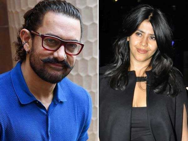 Aamir Khan's compliments leave Ekta Kapoor enthralled