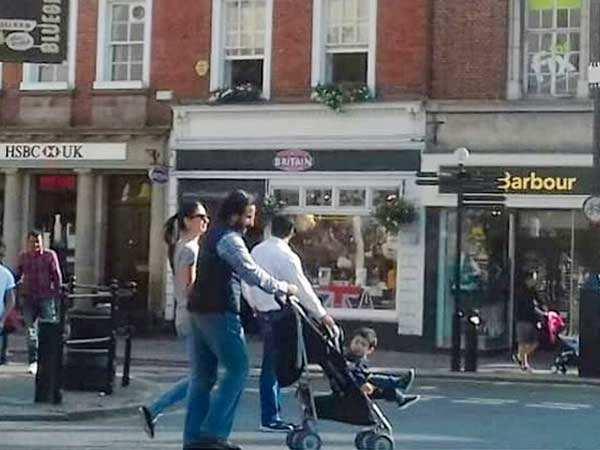 Little Taimur enjoys in London with Saif Ali Khan & Kareena Kapoor Khan