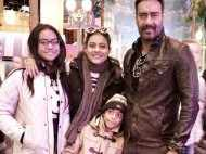 """""""Ajay is better than me when it comes to pampering the kids"""" - Kajol"""
