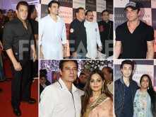 In Photos! Salman Khan attends Baba Siddique's Iftaar bash with his family