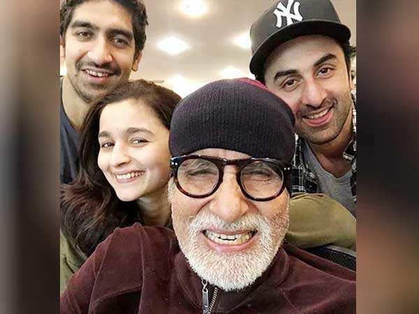 Amitabh Bachchan calls Alia Bhatt and Ranbir Kapoor 'two cuties'