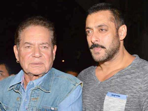Dad Salim Khan breaks his silence on Salman Khan receiving death threats