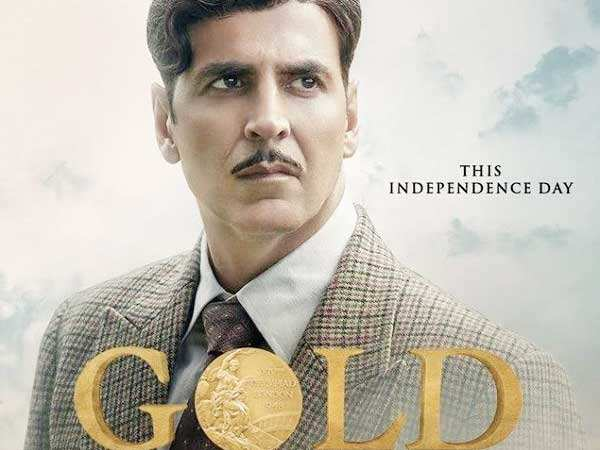 New poster update! Akshay Kumar strikes the patriotic chord in Gold