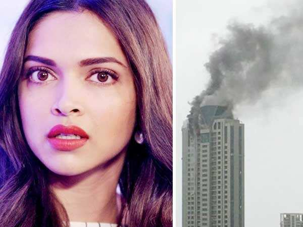 Fire breaks out in Deepika Padukone's building