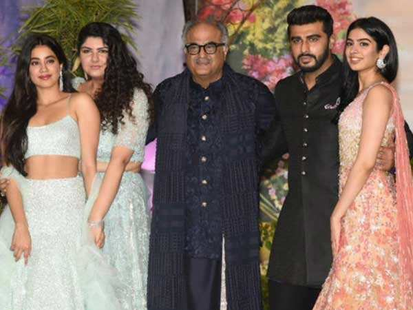 Boney Kapoor holidays with Janhvi, Khushi, Anshula and Arjun Kapoor