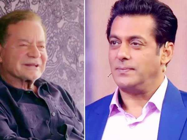 Here's why Salman Khan got emotional on Salim Khan's father's day message