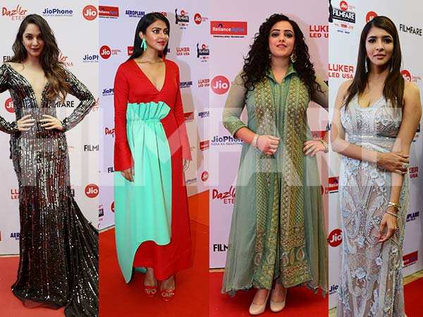 Kiara Advani, Amala Paul, Nithya Menen, Lakshmi Manchu turn up the heat at  65th Jio Filmfare Awards (South)