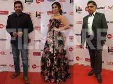 Allu Aravind, Madhavan & Catherine Tresa at the Jio Filmfare Awards (South)