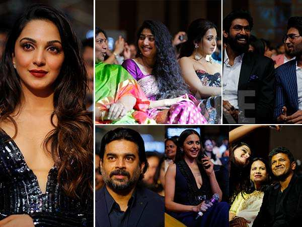 Inside pictures from the 65th Jio Filmfare Awards (South) 2018