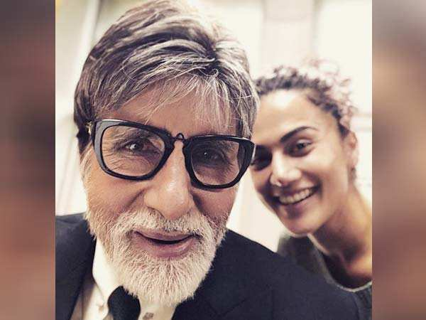 Amitabh Bachchan and Taapsee Pannu start shooting for Badla