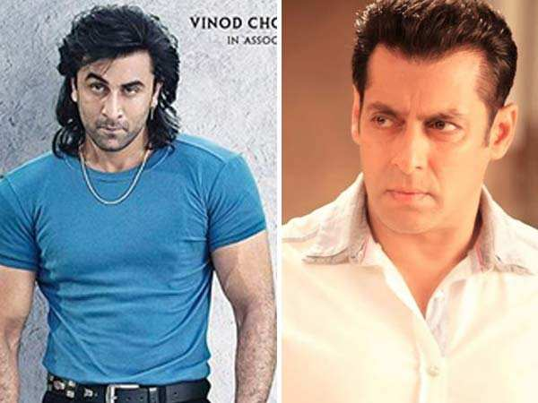 Ranbir Kapoor has a befitting reply to Salman Khan's comment on Sanju