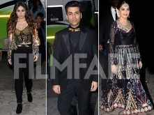 Madhuri Dixit, Karan Johar & Kareena Kapoor Khan at Femina Miss India 2018