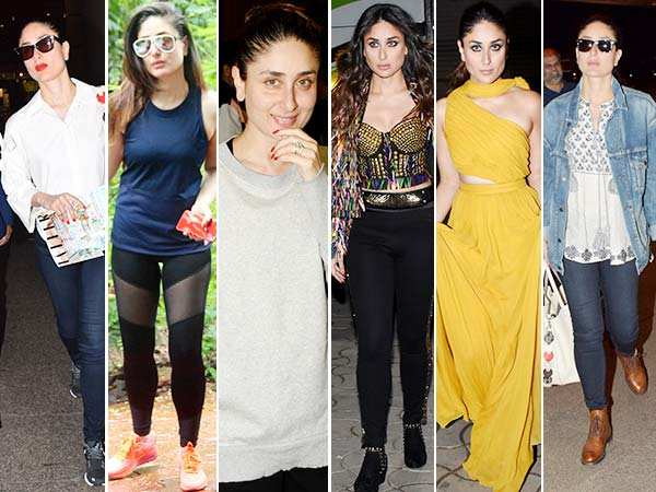24 hours 6 looks! Kareena Kapoor Khan's day out in style