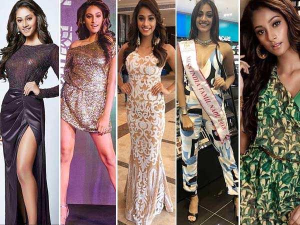 10 stunning pictures of Femina Miss India 2018 Anukreethy Vas