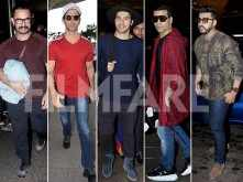 Hrithik, Karan Johar, Varun Dhawan, Aamir & Arjun Kapoor ace travel style