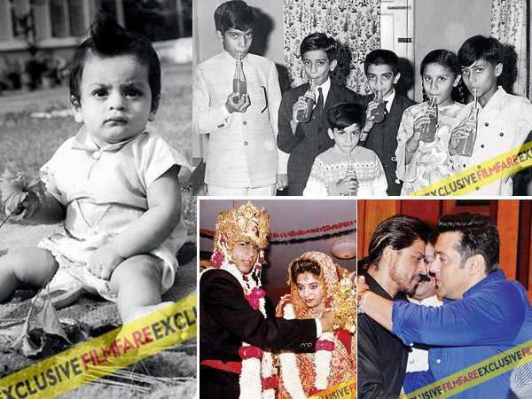 Check out these rare and candid pictures of Shah Rukh Khan