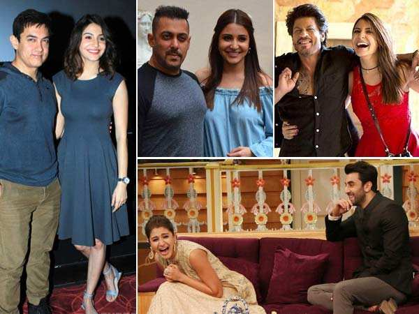 Exclusive! Anushka Sharma talks about her co-stars and their qualities