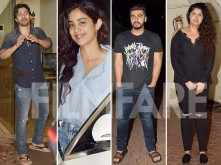 Varun Dhawan, Janhvi Kapoor and more attend Arjun Kapoor's birthday bash