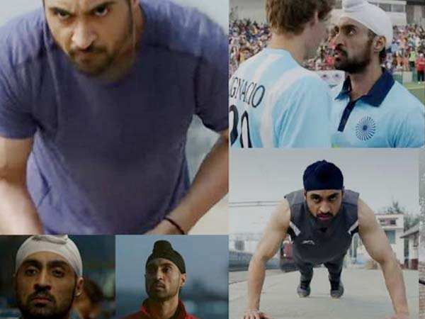 This is why Diljit Dosanjh is seen doing push-ups on a railway platform