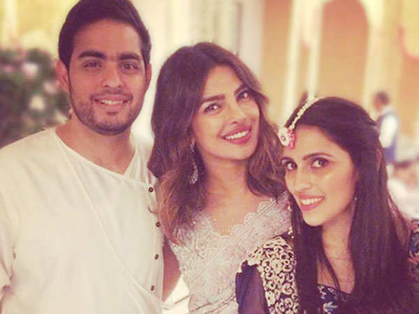 Priyanka Chopra attends Akash Ambani and Shloka Mehta's Mehendi celebration
