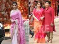 Alia Bhatt and Sachin Tendulkar attend Akash Ambani and Shloka Mehta's engagement