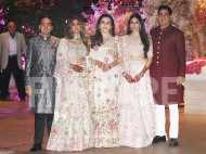 Snapped: Akash Ambani and Shloka Mehta at their engagement ceremony