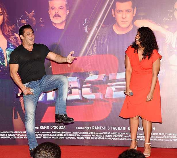 "Salman Khan often spots talent and gives them the desired break in Bollywood. The actor has not just done it once but several times with actresses, actors, singers, music composers and many others. Salman is all set to launch yet another female in Bollywood. Salman revealed during the music launch of the song Allah Duhai Hai from Race 3 that there is a girl that he wanted to introduce the media to. And soon after actor Sharat Saxena's daughter Meera Saxena was called on stage. Taking about her contribution in Race 3, Salman said, ""I heard my friend singing a song long time back, it did not sound good at all. I told him ki uss ganne ko aur gandi awaz mein gaana chahiye so then I tried singing the song. And I was right. I sang worst that it was already sounding (smiles). Then I met Sexy sir. You know who Sexy sir is? Mr. Sharat Saxena. We were shooting for an action sequence in Bangkok. I asked him what his daughter Meera is doing? He said some shows, singing... I said, singing? Then I told him there is a song, ask her to go and sing the song. He thought I was kidding. I thought if she sings well, she will get the song. Let's try her out. She went and sang the song so well that you will hear her today singing with me."" Meera has sung the song I Found Love in Race 3.  Produced by Ramesh Taurani and Salman Khan, Race 3 is going to release on June 15. Remo D'Souza has directed this film that  stars Jacqueline Fernandez, Anil Kapoor, Bobby Deol, Saqib Saleem and Daisy Shah in crucial roles."