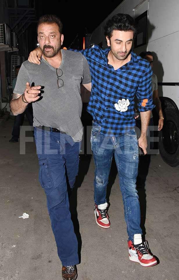 Sanjay Dutt, Ranbir Kapoor