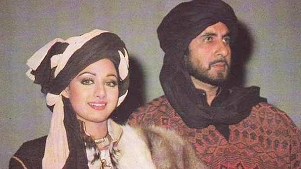 Amitabh Bachchan, Sridevi