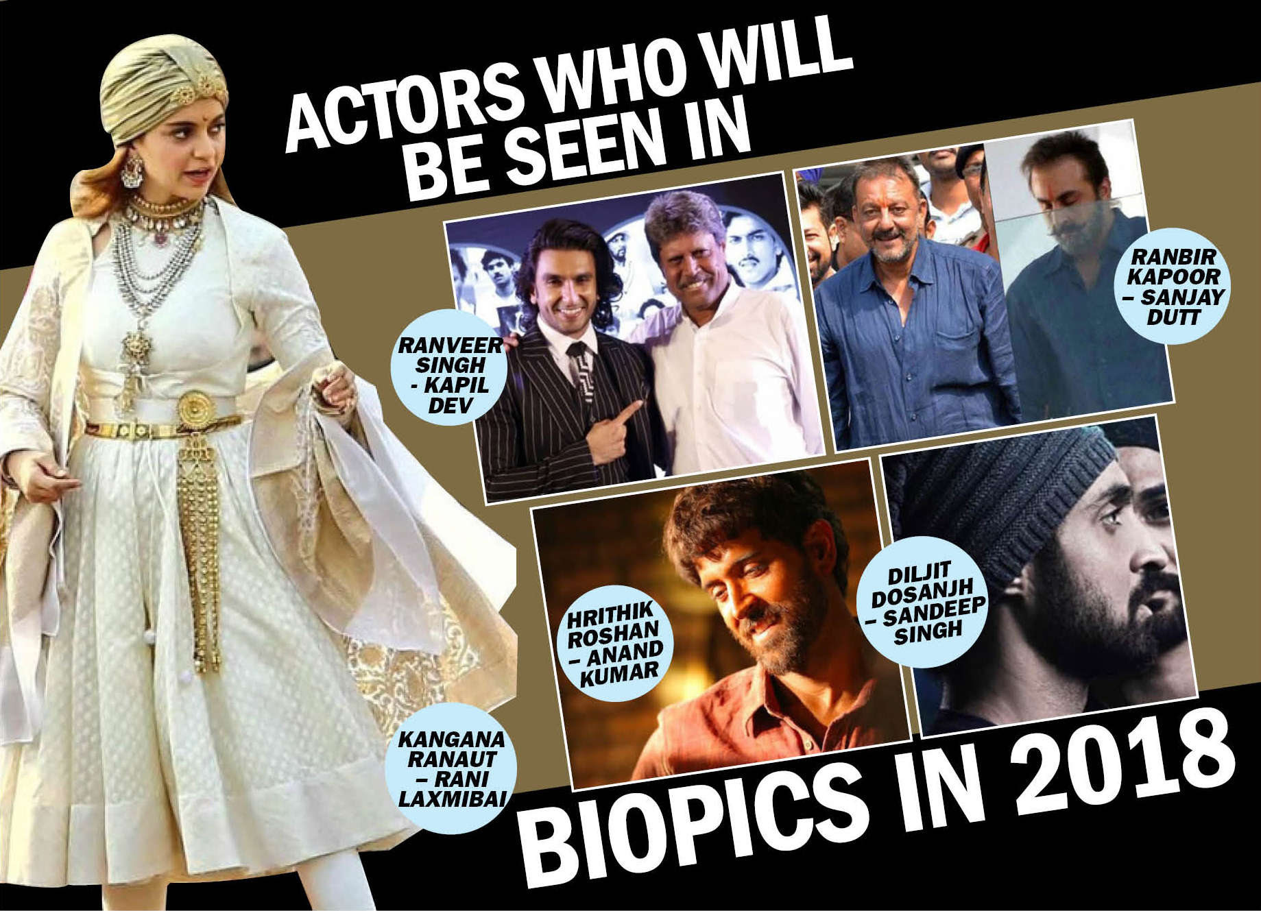 Bollywood actors who will be play real life heroes on-screen