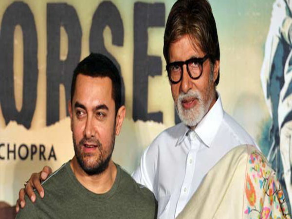 Aamir Khan reveals that working with Amitabh Bachchan is a dream come true