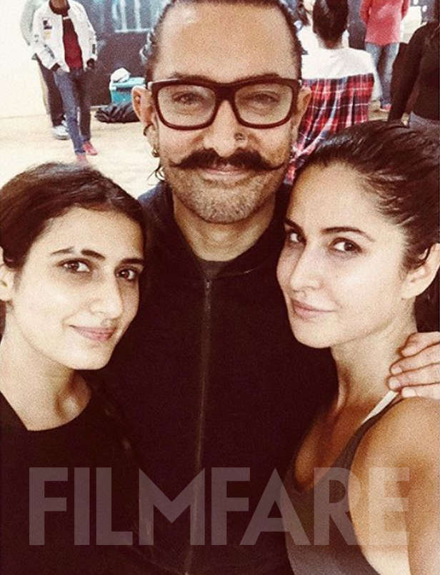Gorgeous! Fatima Sana Shaikh shares a picture of her from the sets of Thugs Of Hindostan