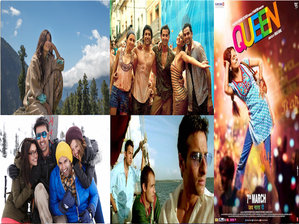 Bollywood Movies which will inspire you to go on a trip right now