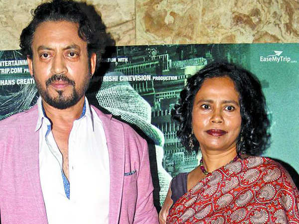 Irrfan Khan's wife Sutapa Sikdar opens up about her husband's illness
