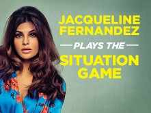 Playing the tricky situation game with Jacqueline Fernandez