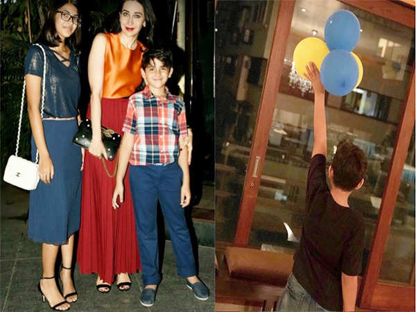 Karisma Kapoor has the sweetest birthday wish for son Kiaan