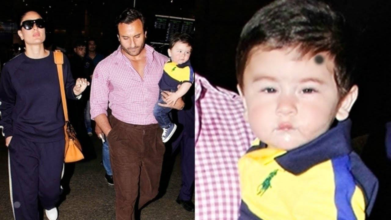 This picture of Saif Ali Khan riding the horse with Taimur Ali Khan is too good