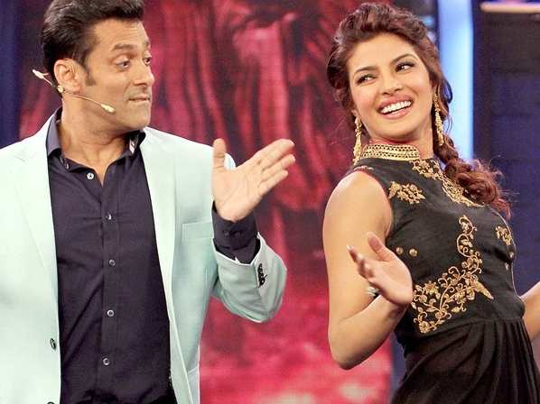 Salman Khan and Priyanka Chopra to collaborate on a film after a decade?