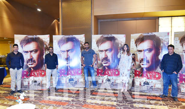 Ajay Devgn's Raid assures entertainment. Directed by Raj Kumar Gupta, the film stars Saurabh Shukla and Ileana D'Cruz alongside Ajay. Ajay Devgn essays the role of an income-tax officer. He is seen raiding the houses of ministers in the film, which is based on a real-life raid that took place in North India in the 1980's. Ajay's character is commanding and reflects power and level-headedness. Saurabh Shukla is seen as a strong force that challenges Ajay to find illegal cash and property papers in his house after the latter barges in. However, Ajay's crew finds nothing, making it a tough situation to wriggle out of. Ajay and Ileana have previously worked together in the film Baadshaho and are all set to return with Raid.     Ajay's Raid is currently in its second week of collections and the film has earned an impressive amount. Rs 79.53 crores is the total collection of the film till the present day, making it a success. The film is slowly yet steadily moving towards the Rs 100 crore club and thus it has made space for itself in the list of successful films of 2018.     The film has been produced by Bhushan Kumar and Kumar Mangat, has been scripted by Ritesh Shah.