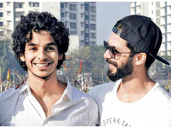 Shahid Kapoor reveals fans might get to see him and brother Ishaan Khatter together in a film