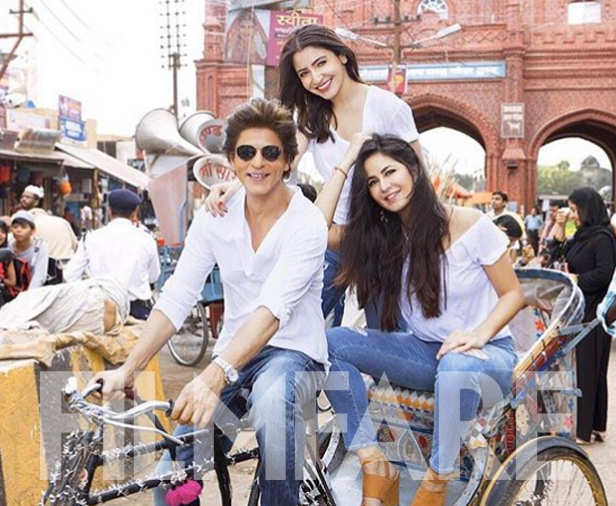 Shah Rukh Khan's media manager Katrina Kaif shares another video of him from the sets of Zero